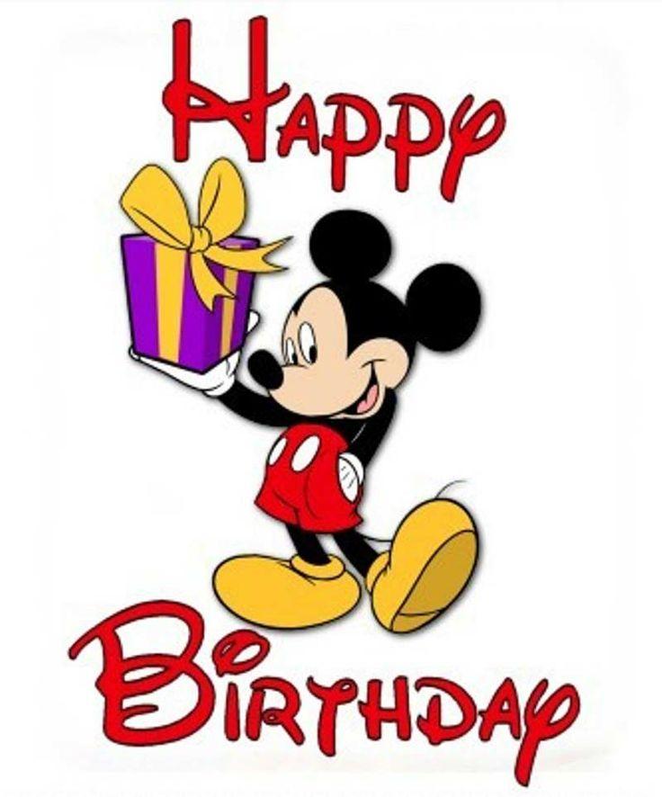 736x886 Mickey Mouse Birthday Card