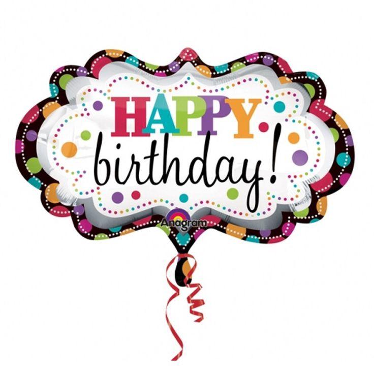 736x736 Birthday Greetings Clip Art Free