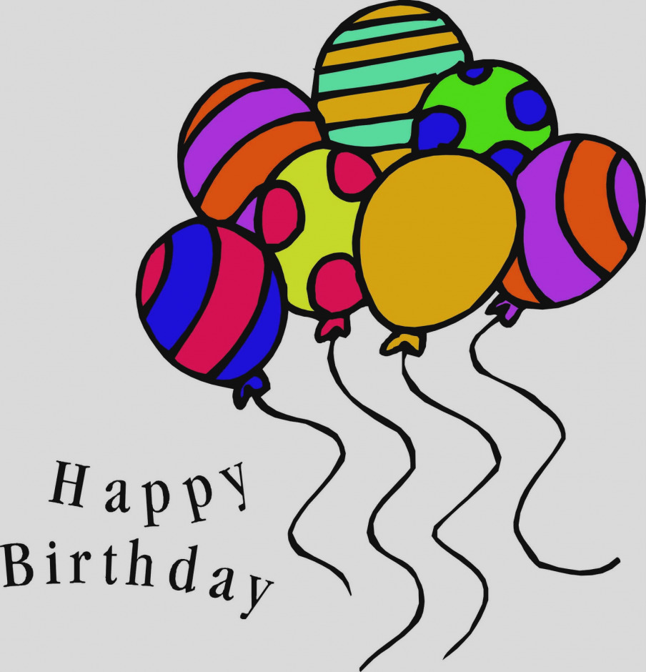 904x940 Free Clipart For Birthdays