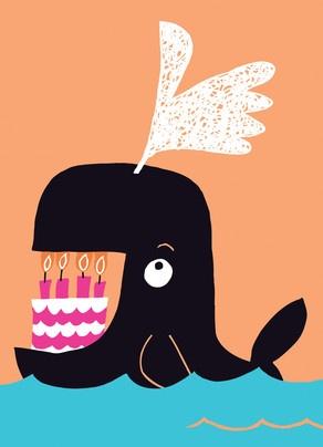 292x404 Whale Clipart Happy Birthday