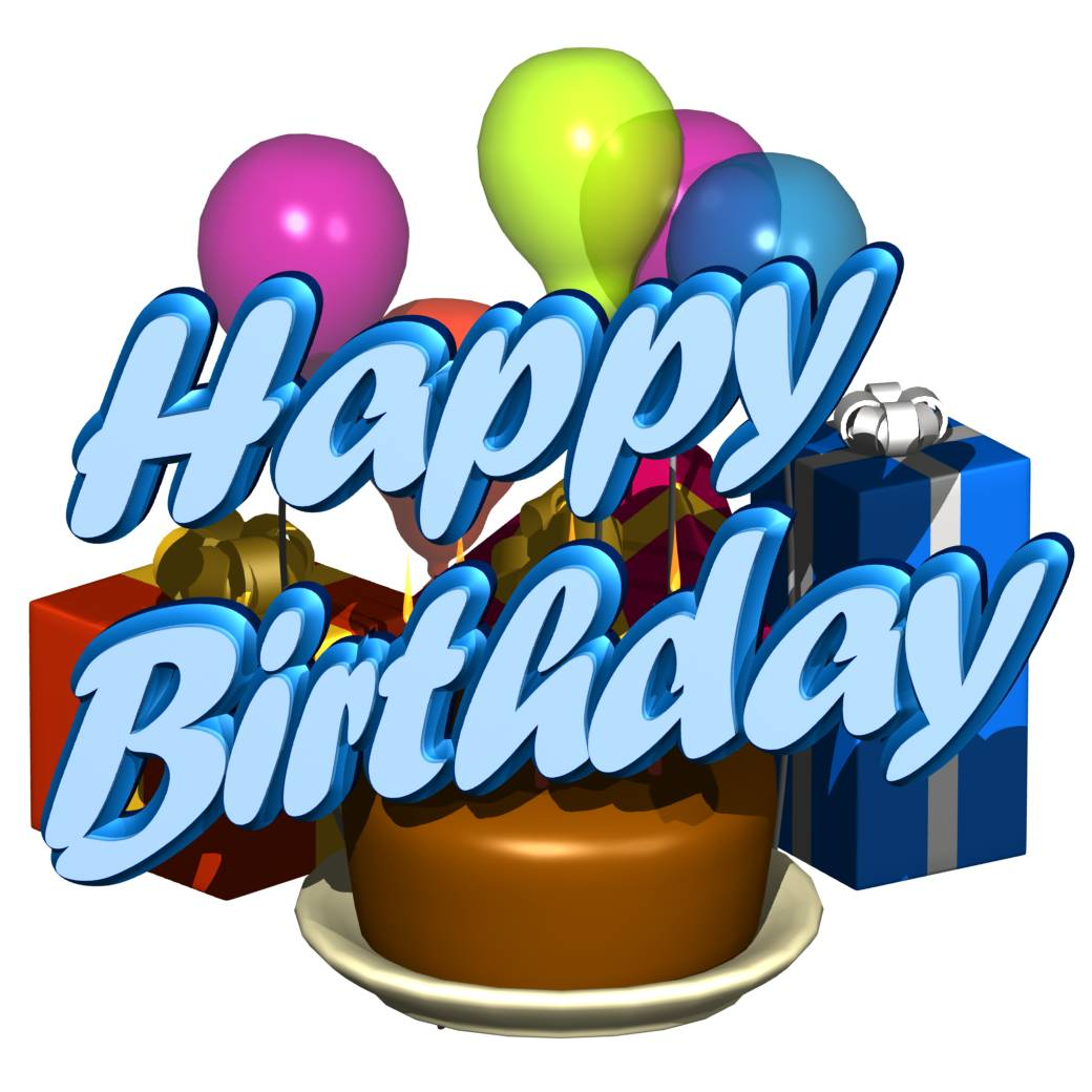 1040x1040 Collection Of Free Happy Birthday Brother Clipart High