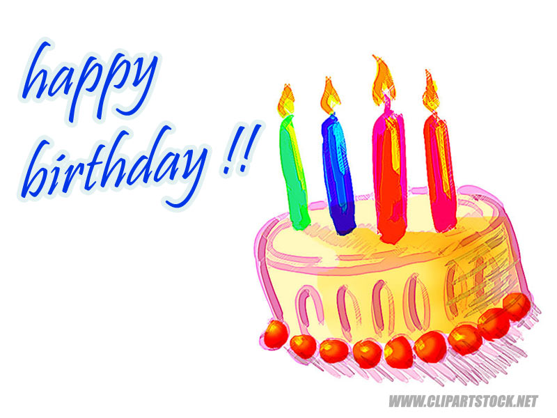 Happy Birthday Cards Clipart At Getdrawings Free For Personal