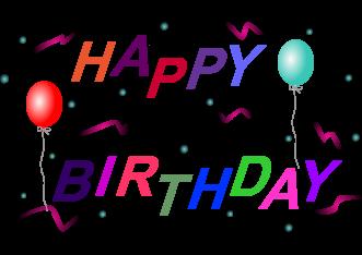 331x234 Happy Birthday Clip Art