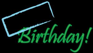 300x174 Happy Birthday Clip Art