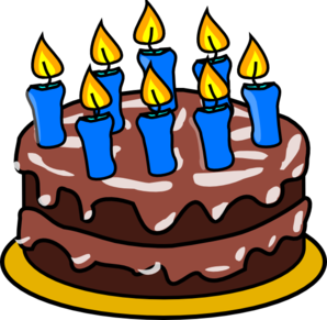 298x291 Happy Birthday Clip Art