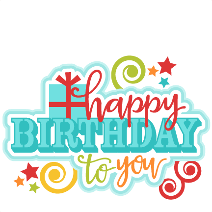 432x432 Happy Birthday Clip Art Free Download