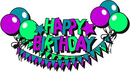 450x249 Happy Birthday Free Birthday Clipart Animations 2