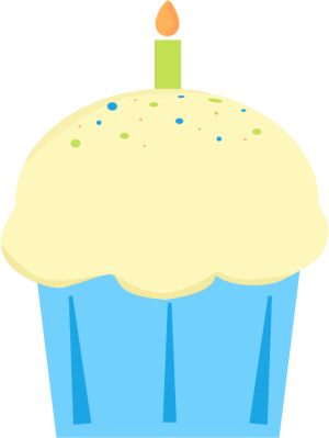 300x399 Cupcake Clip Art