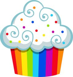 happy birthday cupcake clipart at getdrawings com free for rh getdrawings com cupcake clipart border free cupcake clip art free images