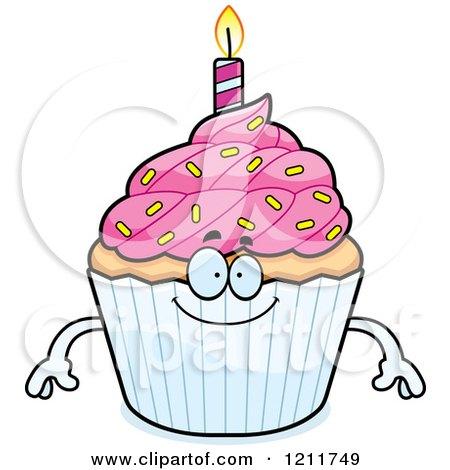 450x470 Royalty Free (Rf) Birthday Cupcake Clipart, Illustrations, Vector