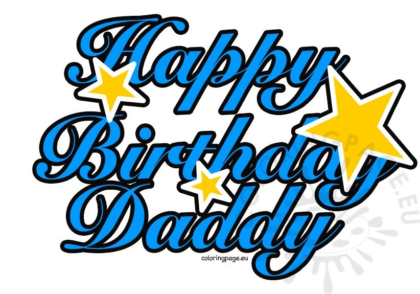 822x575 Collection Of Happy Birthday Dad Clipart High Quality, Free