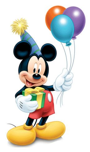 Happy Birthday Disney Clipart