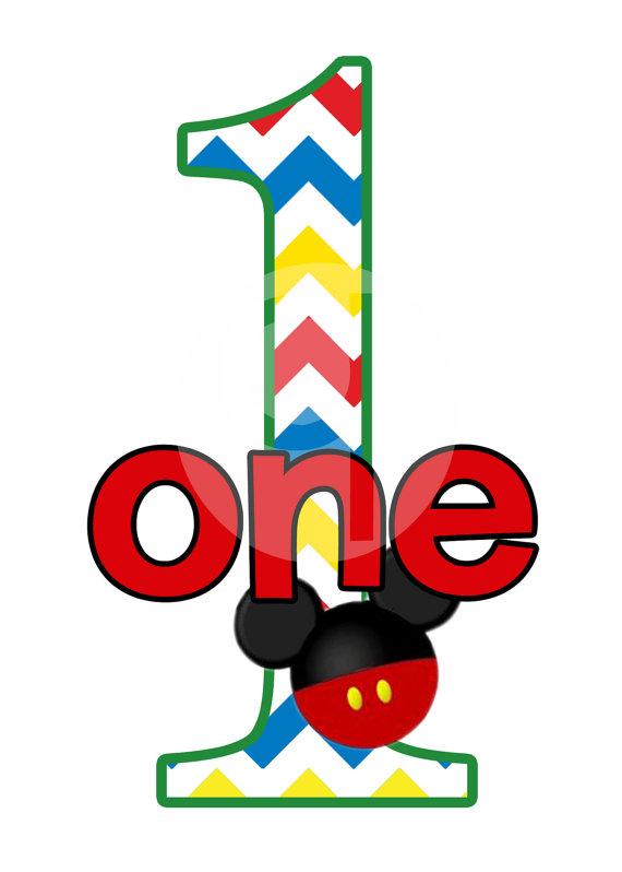 570x798 Mickey Happy Birthday Clipart