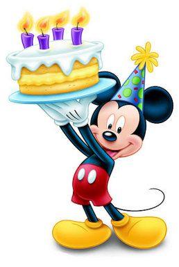 258x384 Mis Laminas Para Decoupage Mickey Mouse, Mice And Happy Birthday