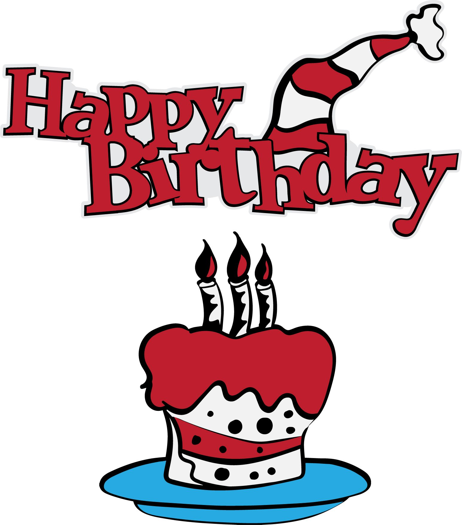 Happy Birthday Dr Seuss Clipart At Getdrawings Free For