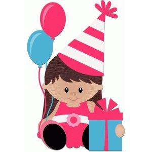Happy Birthday Girl Clipart