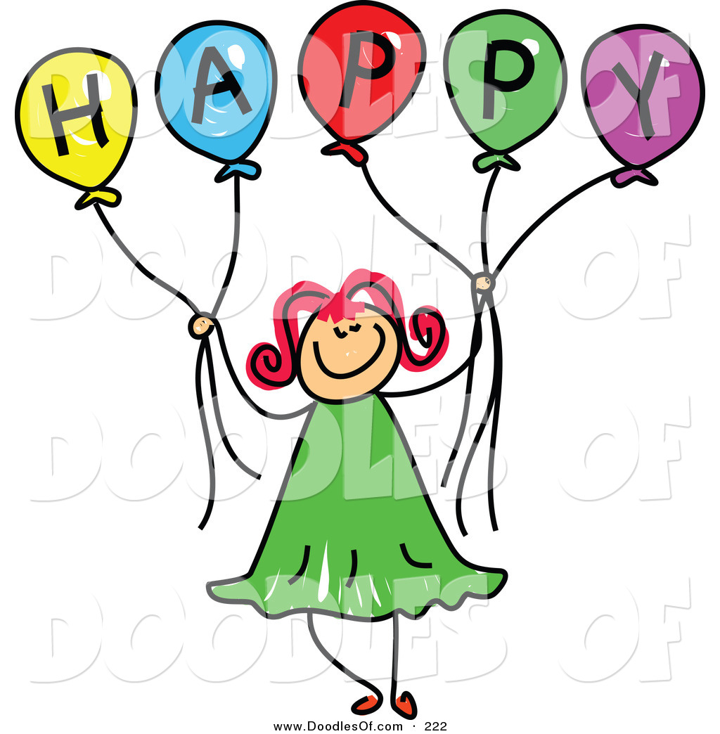 Getdrawings Cliparts Happy Birthday Girl Clipa
