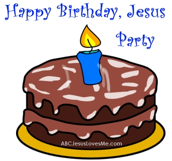 343x322 Happy Birthday Jesus Clip Art