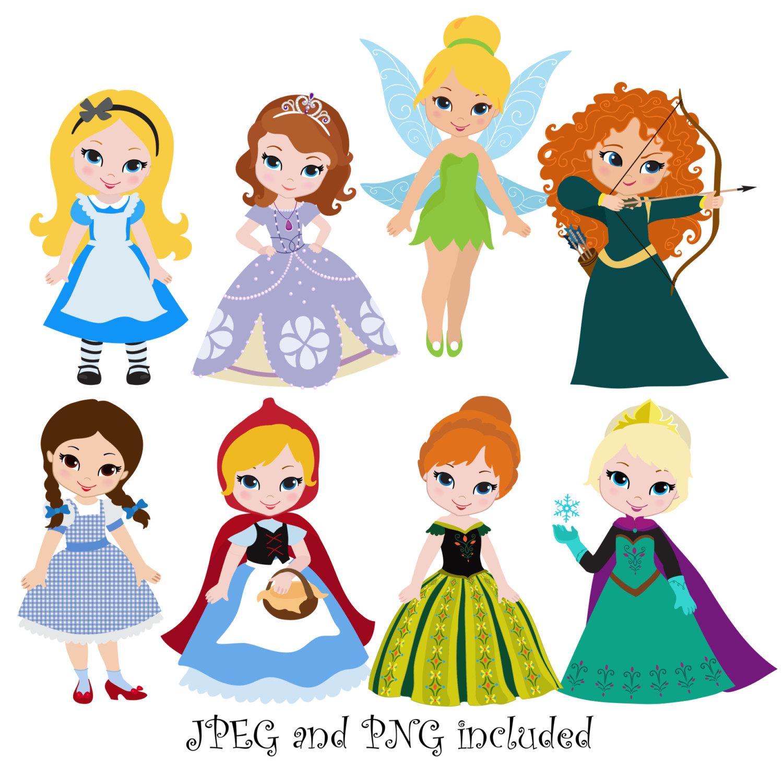 1500x1478 Disney Princess Birthday Clip Art Images