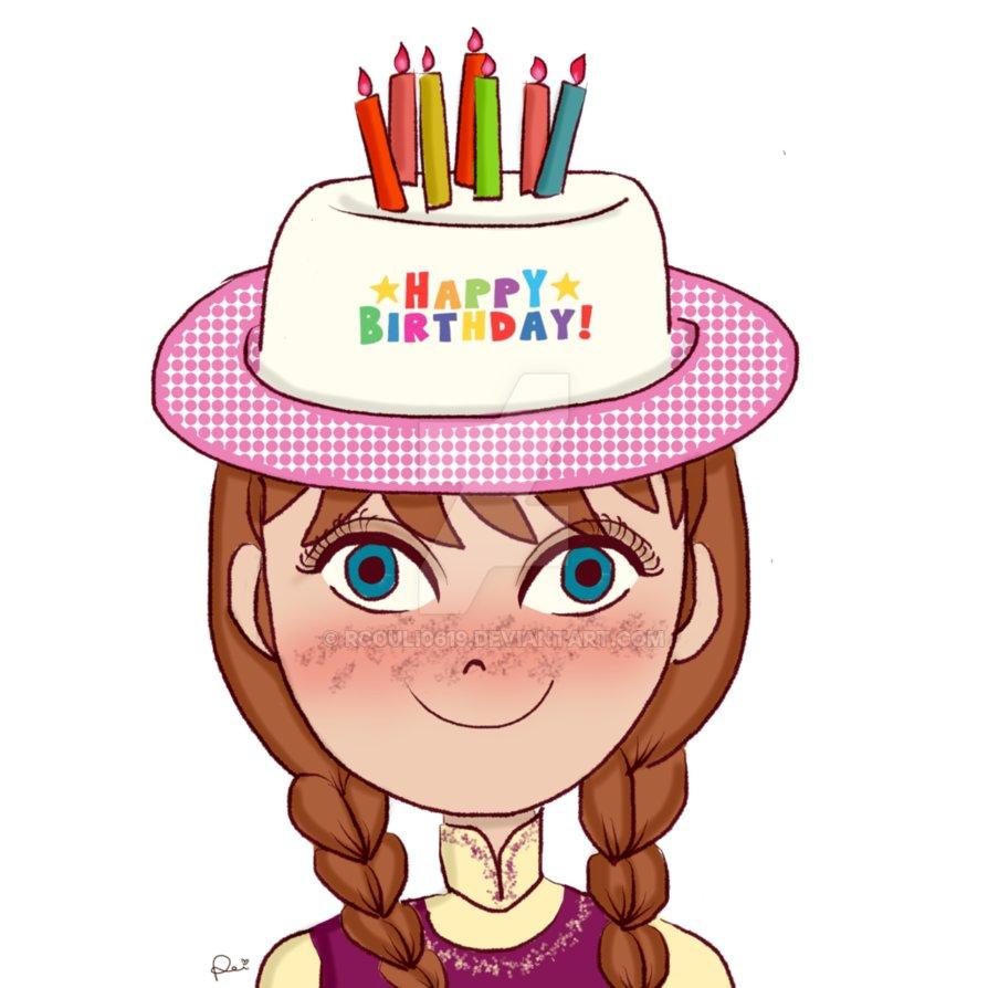 894x894 Happy Birthday, Princess Anna! By Rcouli0619