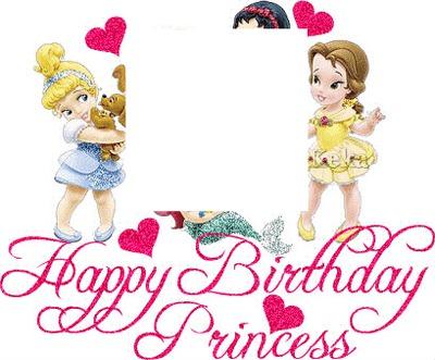 400x331 Photo Montage Princess Birthday