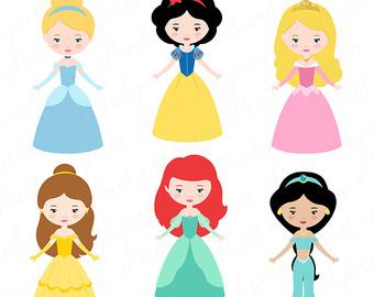 340x270 Princess Clip Art Fairytale Princess clip art Cute Little