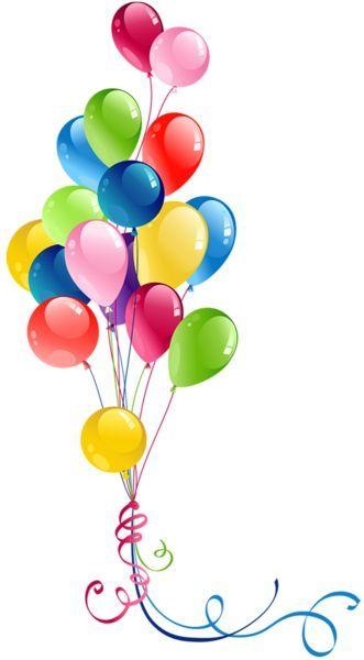 331x600 Clip Art, Birthday Balloons, Happy