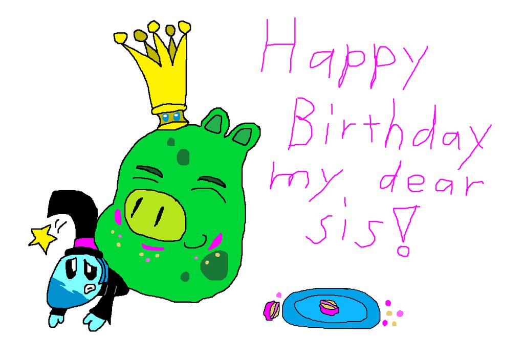 1024x706 Happy Birthday My Dear Sister! By Taruthekoopa