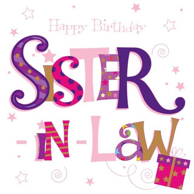 640x640 Collection Of Happy Birthday Sister In Law Clipart High
