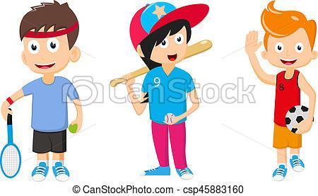 450x277 Illustration Of Happy Kids Cartoon Stock Illustration