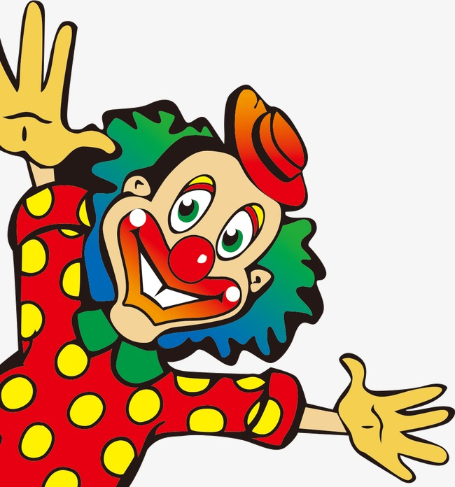 650x696 Happy Clown, Happy, Cartoon, Clown Png Image And Clipart For Free