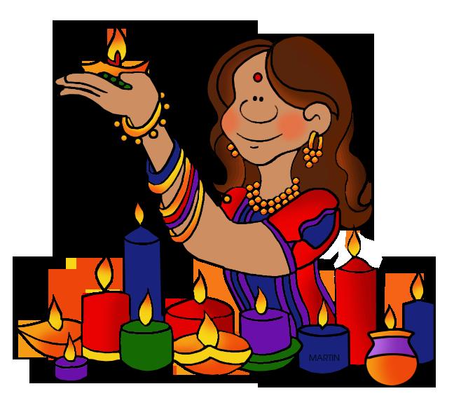 648x568 India Clip Art By Phillip Martin, Diwali
