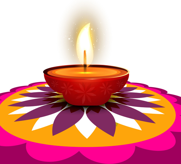 600x544 Traditional Clipart Diwali Rangoli