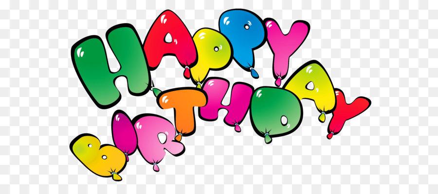 900x400 Birthday Cake Balloon Clip Art