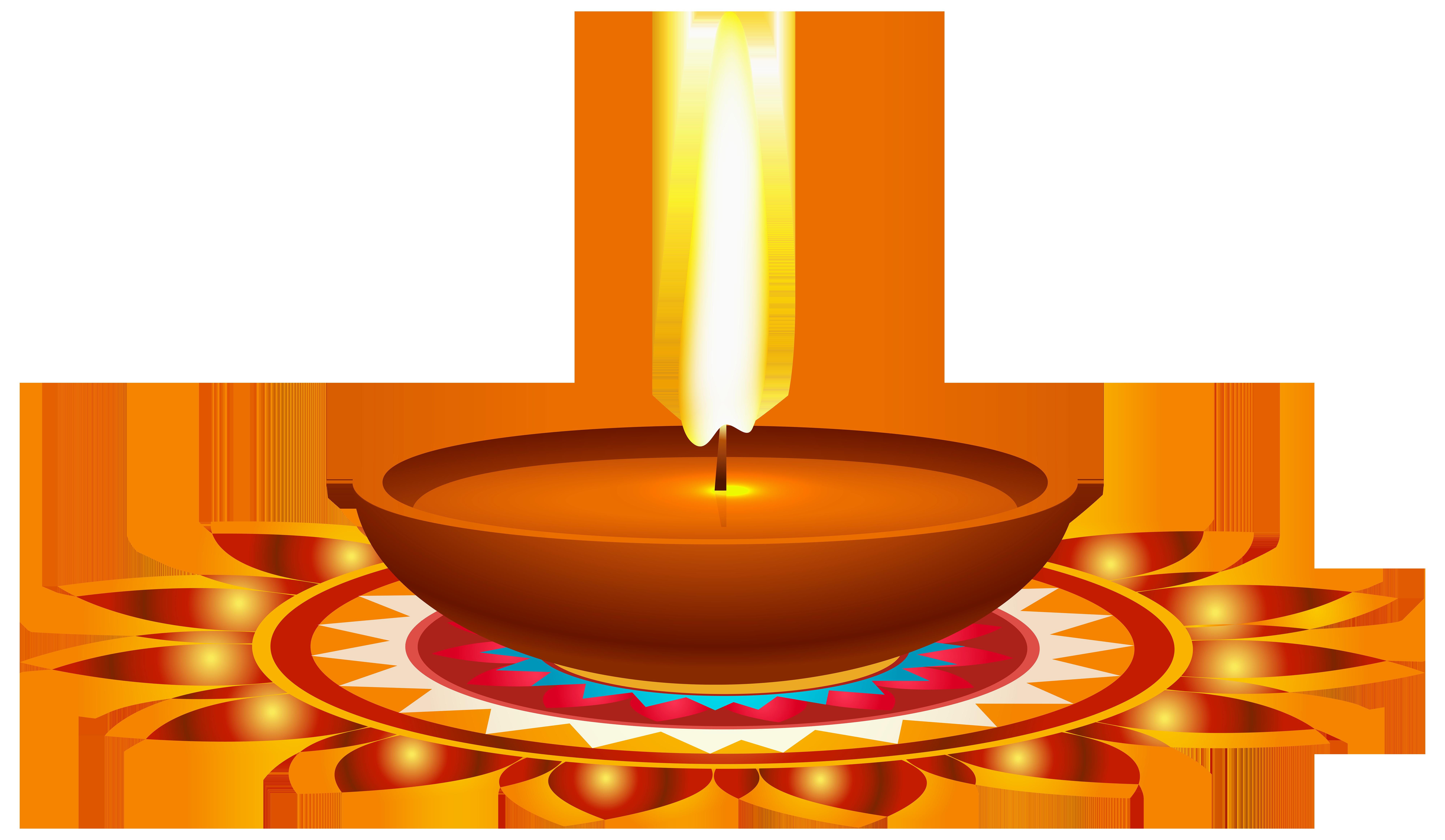 8000x4650 Diwali Candle Png Clip Art Imageu200b Gallery Yopriceville