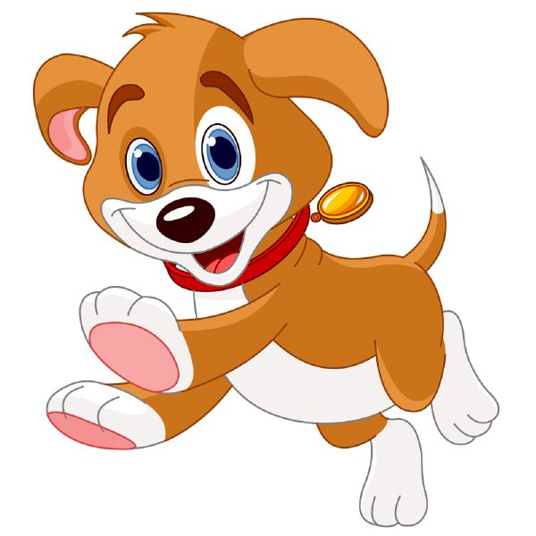 Happy Dog Clipart