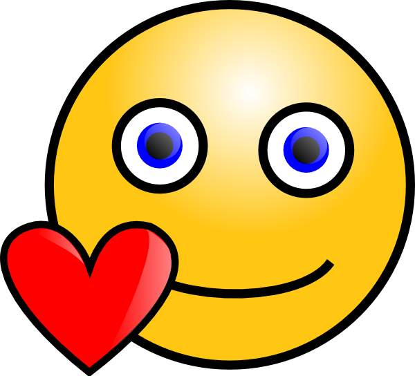 600x544 Happy Face Winking Smiley Face Clip Art Free Clipart Images