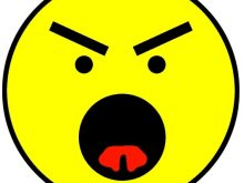 220x165 Mad Face Clipart Annoyed Face Angry Symbol Sample 5 Emotion Mad