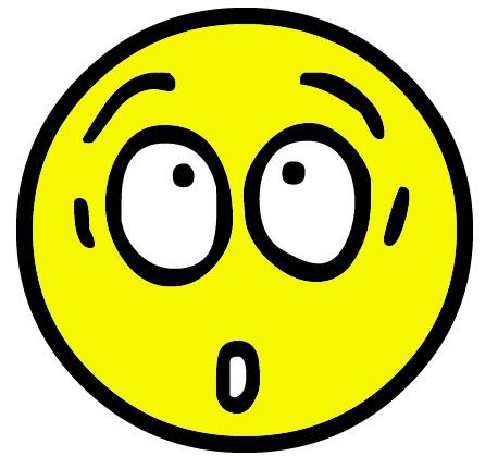 458x431 Shocked Smiley Face Clip Art Clip