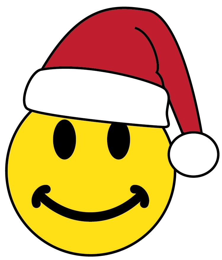 750x877 Christmas Smiley Faces Clip Art Merry Christmas And Happy New