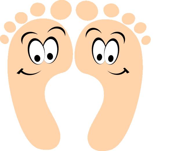 600x522 Happy Feet Clip Art