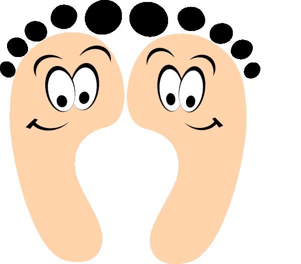 600x528 Purple Happy Feet Clip Art Clipart Panda