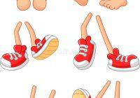200x140 Cartoon Feet Brown Happy Feet Clip Art