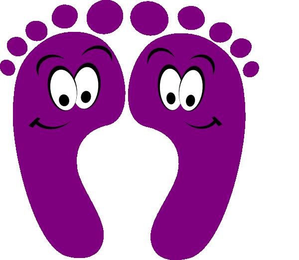 600x522 Purple Clipart Purple Happy Feet Clip Art Clip Art