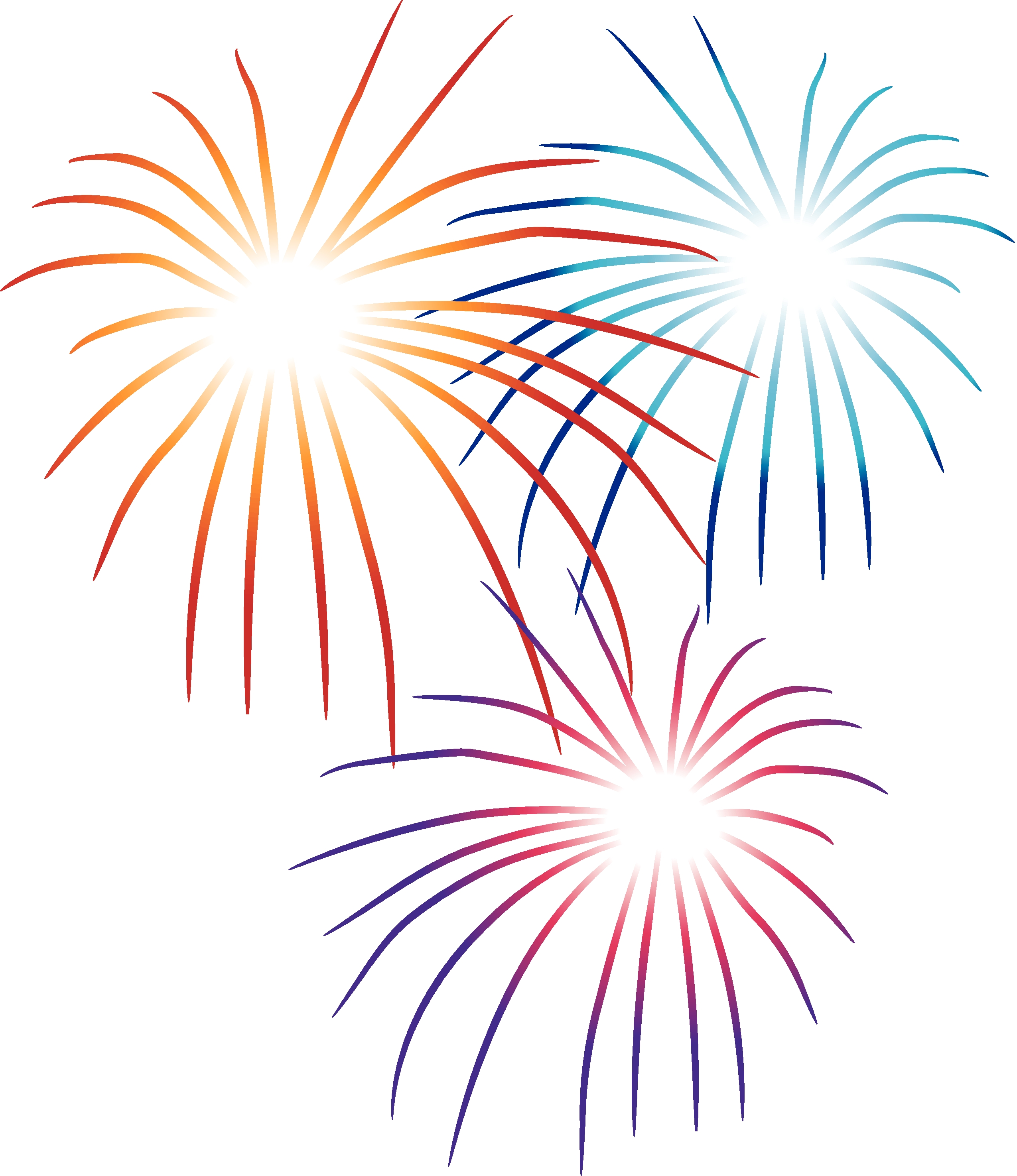 2550x2950 Fireworks Clipart Transparent Background