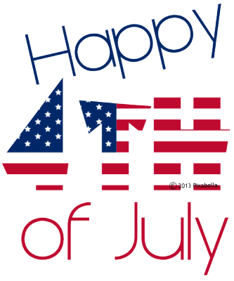 333x400 Happy 4th Of July Word Art Clipart Panda