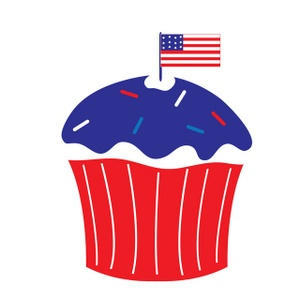 300x300 Happy 4th Of July Clipart Clipart Panda