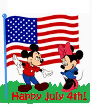 444x446 Mickey Mouse 4th Of July Clipart 101 Clip Art