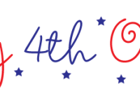 200x140 Happy 4th Of July Clipart Have A Happy 4th July Editable Vector