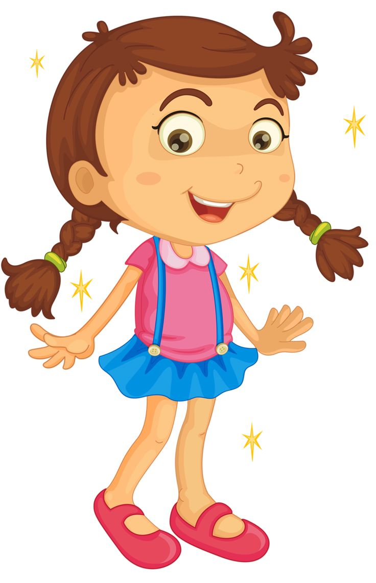 Happy Girl Clipart